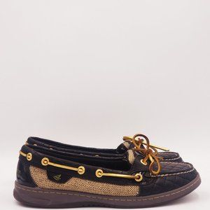 Sperry Top Sider quilted 2 eye Boat Shoes B279